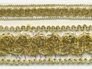 Brokatborte gold Nr. 602-24, Breite ca. 22 mm