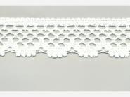 Klöppelspitze 75067_06000, Breite 47 mm, Farbe weiß