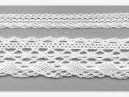 Klöppelspitze 75081_06000, Breite 19 mm, Farbe weiß
