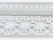 Klöppelspitze 81050_06000, Breite 17 mm, Farbe weiß