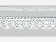 Klöppelspitze 81197_06000, Breite 11 mm, Farbe weiß