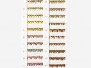 Mokuba Floral Tape einseitig Nr. 9333, Breite ca. 4 mm
