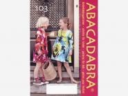 ABACADABRA Schnittmuster Nr. 103 Mädchen-Kleid, Größe 92-152