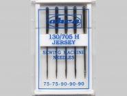 akra Maschinennadeln Jersey Nr. 31280099, Stärke 2 x 75 und 3 x 90 sortiert, Box mit 5 Nadeln
