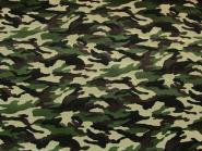 Army-Stoff Camouflage L748-4, Breite ca. 150 cm, Farbe 4 natur-oliv-dunkelbraun-schwarz