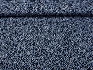 Baumwollstoff Pantherdruck L863-58 in jeansblau, Breite ca. 150 cm