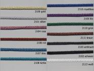Brokatborte Nr. 9552 aus Echt-Lurexgarn, Breite ca. 10 mm