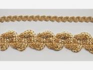 Brokatborte gold Nr. 69781704, Breite ca. 15 mm