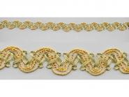 Brokatborte gold Nr. 69781728, Breite ca. 15 mm