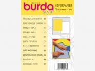 burda Kopierpapier Nr. 1300 weiß/gelb, je 1 Bogen in weiß und gelb, Bogengröße ca. 83 x 57 cm