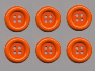 Clowns-Knöpfe 10115091-80or, Größe 80 (ca. 5,1 cm)