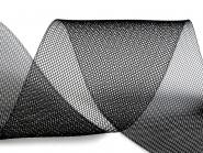 Crinoline Versteifungsband fest S750348-02, Breite ca. 10 cm, Farbe 02 schwarz