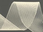 Crinoline Versteifungsband fest S750344-15, Breite ca. 5 cm, Farbe 15 creme