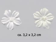 Dekorblume mit Glasperlen Nr. 91489, Größe ca. 3,2 x 3,2 cm