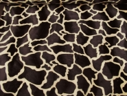 Fell-Imitat Giraffe L725-18, Breite ca. 140 cm, Farbe natur, Musterung dunkelbraun