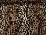 Fell-Imitat Jaguar L725-01, Breite ca. 140 cm, Farbe natur-braun