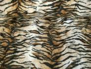 Fell-Imitat Tiger L725-31, Breite ca. 140 cm, Farbe natur-braun