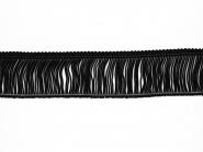 Fransenborte schwarz 8547-05