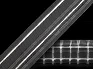 Gardinenband mit Bleistftfalten transparent Nr. 260588, Breite ca. 50 mm