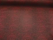 Georgette 464523 Leodruck in dunkelrot-schwarz