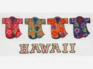 Glitter-/Folien-Bügelmotiv NS 272 - Hawaii, Größe ca. 17 x 7 cm