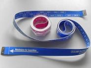 Miedermaßband, Länge 140 cm, Breite 20 mm