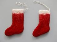Jim Knopf Filz-Stiefel Santa rot Nr. 12871, Größe ca. 6 x 9 cm