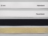 Klettband Standard zum Annähen Nr. 91667, Breite 25 mm, Flausch- und Hakenband
