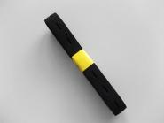 Knopflochgummi Nr. 29861279-s, Breite 15 mm, 2,3 m Bund