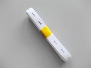 Knopflochgummi Nr. 29861279-w, Breite 15 mm, 2,3 m Bund