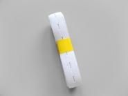 Knopflochgummi Nr. 29863300-w, Breite 21 mm, 2,3 m Bund