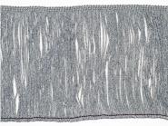 Lurex-Fransenborte silber 8818s-15