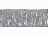 Lurex-Fransenborte silber 8818s-08