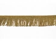 Lurex Schlingen-Fransenborte gold 8818gu-04