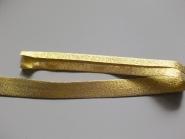 Lurex-Schrägband 640-01, Breite ca. 20 mm, Farbe 01 gold