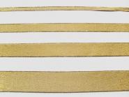 Lurexband Nr. 25197g - Metallic-Band in gold mit Goldkante, Breite 7, 15, 25 und 38 mm