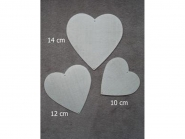 modii Kantenformer Herzen Nr. 30011, Typ 11, Größe 10, 12 und 14 cm