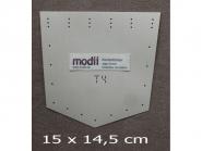 modii Kantenformer Jeanstasche Nr. 14000, Typ 4, Größe 15 x 14,5 cm