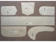 modii Kantenformer Komplettset Nr. 60000, Typen 1-6