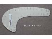 modii Kantenformer Kurven Nr. 13000, Typ 3, Größe 30 x 15 cm