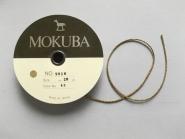 Mokuba Metallic Cord Nr. 9818-43 in gold, Breite ca. 2 mm