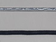 Paillettenband matt mit Gimpe Nr. 25888, Breite ca. 11 mm