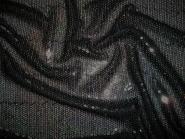 Paillettenstoff HS3239-2 schwarz irisierend, Nutzbreite ca. 135 cm