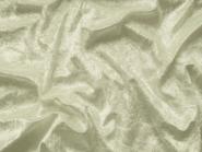 Pannesamt uni L724-1561b creme, Breite ca. 150 cm, Reststück 1 m