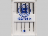 Maschinennadeln Standard Nr. 170503, Stärke 80, Box mit 5 Nadeln