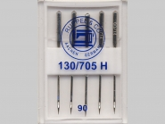 Maschinennadeln Standard Nr. 170504, Stärke 90, Box mit 5 Nadeln