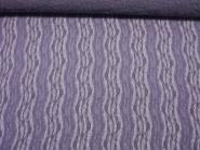 Elastischer Spitzenstoff 60710-04 in lila mit Wellenmuster, Breite ca. 135 cm