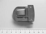 Steckschloss Metall groß Nr. 62080me, Größe ca. 42 x 53 mm