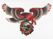 Strass-Folien-Bügelmotiv TA 001 - Eagle, Größe ca. 24 x 16 cm
