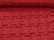 Couture-Stoff mit elastischer Raffung Nr. 99-025-A in dunkelrot, Breite ca. 130 cm
